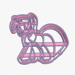 Download 3D printer files Cookie Cutter My Little Pony Twilight Sparkle Cortante Galletita , ELREYSALE