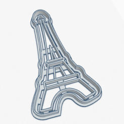 Download STL file Cookie Cutter Tower Eiffel Cookie Cutter Tower, facugb
