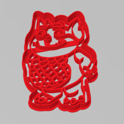 gargola_vampirina.PNG Télécharger fichier STL Coupe-biscuit Gargouille Vampirina Coupe-biscuit • Plan imprimable en 3D, ELREYSALE