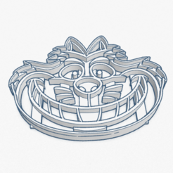 Download 3D printer templates Cookie Cutter Cat Cashemire Cortante Galletita Gato Alice in Wonderland, ELREYSALE