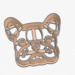 bulldog_frances.PNG Download STL file Cookie Cutter French Bulldog French Cookie Cutter • 3D printing design, ELREYSALE