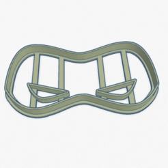 Captura de Pantalla 2020-05-03 a la(s) 01.28.50.png Download STL file Cookie Cutter The Incredibles Mask Cortante Galletita Los Increibles Mascara • 3D printable model, ELREYSALE