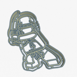 Download STL files Cookie Cutter Lego Ninjago Cookie Cutter, facugb