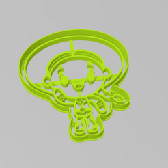jessie_toy_story.PNG Download STL file Cookie Cutter Jessie Toy Story Cutter • 3D printer object, ELREYSALE