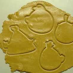 """_SAM2084.JPG Download STL file Cookie cutters """"Angry Birds"""" • 3D printing object, DaGov007"""