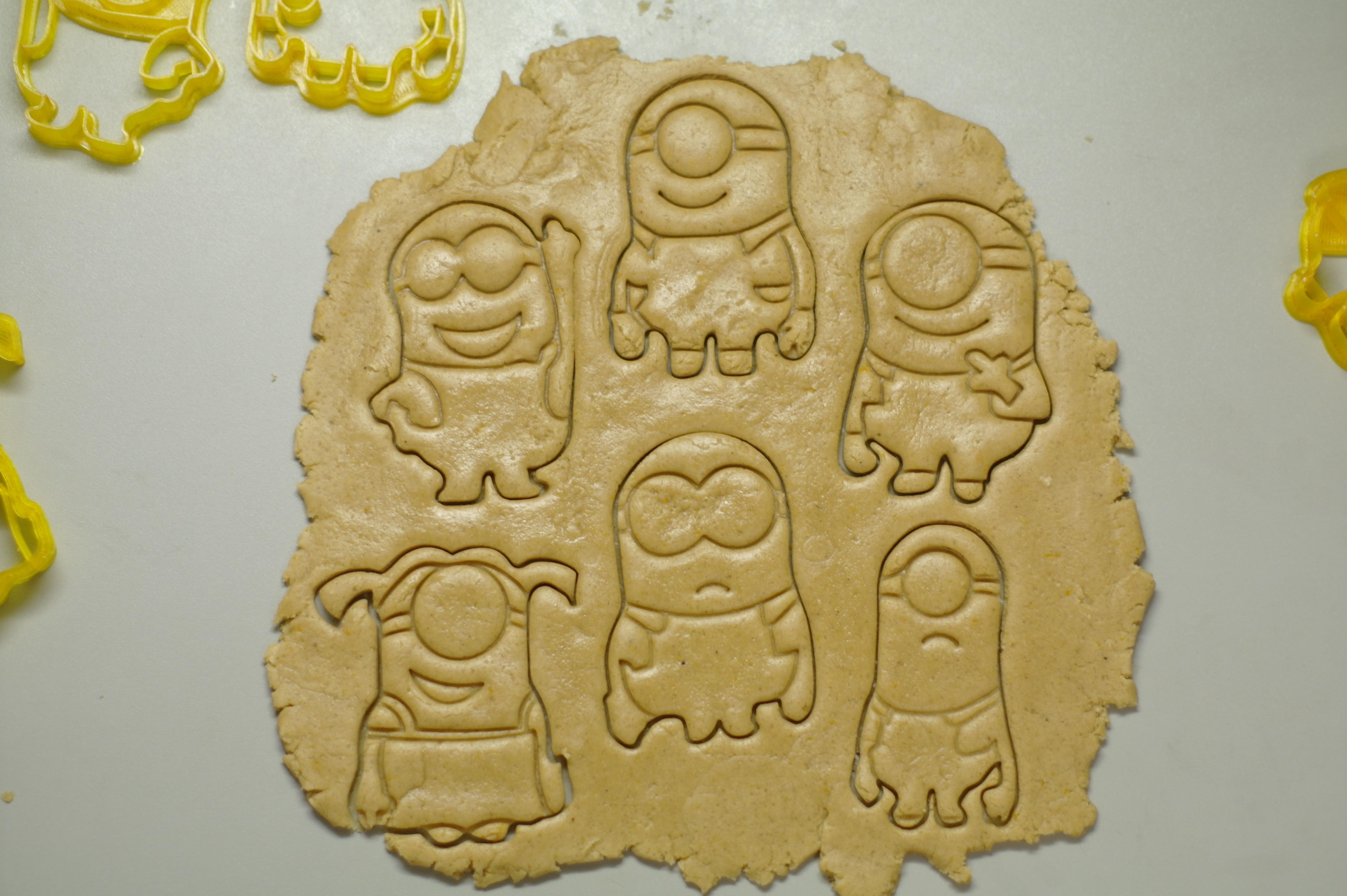 "_SAM2299.JPG Download STL file Cookie Cutters ""Minions"" • 3D printable template, DaGov007"