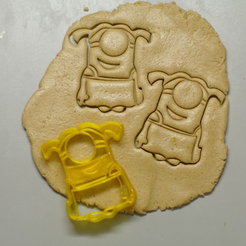"_SAM2304.JPG Download STL file Cookie Cutters ""Minions"" • 3D printable template, DaGov007"