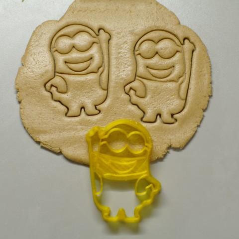 "_SAM2302.JPG Download STL file Cookie Cutters ""Minions"" • 3D printable template, DaGov007"
