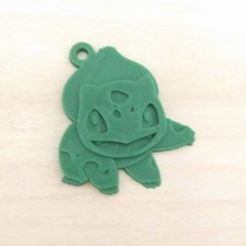 Free stl file Bulbasaur Key chain, NateCreate