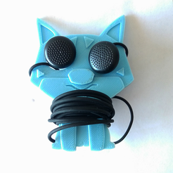 Free STL file Dog earphone cable organiser, NateCreate