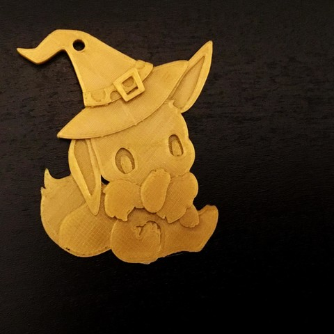 Free 3D printer model Eevee Halloween Special , NateCreate