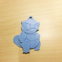 Free STL file Squirtle Key chain, NateCreate