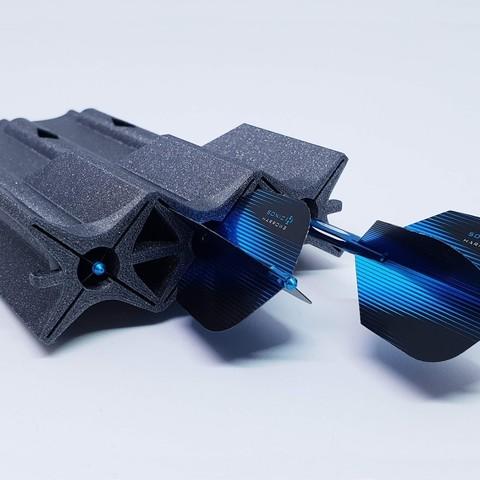 Archivos 3D gratis Funda para dardos protectores Tom's, TomV