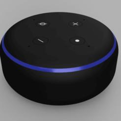 Echo_Dot_3_2019-Nov-30_01-33-38PM-000_CustomizedView19189249322.png Download free STL file Amazon Echo Dot 3 • Object to 3D print, DaGoN