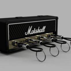 Marshall_JCM800_2019-Sep-30_12-36-19PM-000_CustomizedView9455741577.png Download free STL file Marshall Amplifier Style Keychain Holder • 3D printer object, DaGoN
