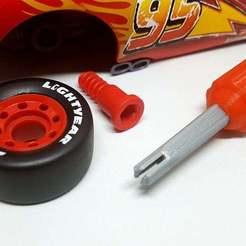 20181124_194658.jpg Télécharger fichier STL gratuit Cars Mcqueen Toy Tool Kit • Plan pour imprimante 3D, DaGoN