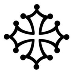 Descargar archivos STL gratis Cruz occitana / Croix occitane, DaGoN