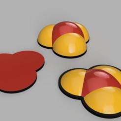 Blast Markers.png Download free STL file Battlefleet Gothic 3D Blast Markers • 3D printing template, DaGoN