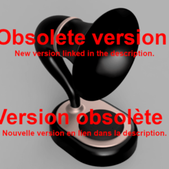 Imprimir en 3D gratis Gramazón 3ª Generación - Amplificador Amazon Echo Dot 3, DaGoN