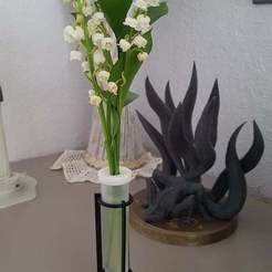 20200429_165235.jpg Download free STL file Lily of the valley / Muguet support • Model to 3D print, DaGoN