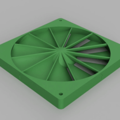 FanBooster_V3_140x15mm_12_blades.png Télécharger fichier STL gratuit 140mm Fan Static Pressure Booster 10/15/20mm • Design pour impression 3D, DaGoN
