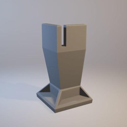 Download free 3D model Ultimaker 2 / 2+ / 3 anti-vibration feet whith evacuation hole, DaGoN