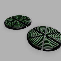 Jetons_Radar_1.png Download free STL file Battlefleet Gothic 3D Radar Counters • 3D printer design, DaGoN