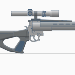 Télécharger STL Fusil Blaster de surveillance de la mort, Straeker