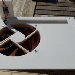 20200528_171352.jpg Télécharger fichier GCODE Plaque Anycubic Chiron avec Noctua 140 NF-P14 FLX • Design à imprimer en 3D, fanybabeth