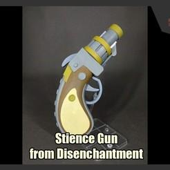 Descargar STL Pistola de Stience Gun del desencanto, FunbieStudios