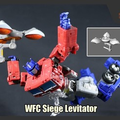 Download STL Transformers WFC Siege Levitator, FunbieStudios