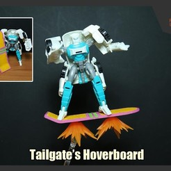 Download free 3D model Transformers Hoverboard for Tailgate, FunbieStudios