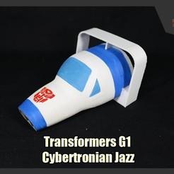 Descargar archivo 3D gratis Transformadores G1 Cybertronian Jazz, FunbieStudios