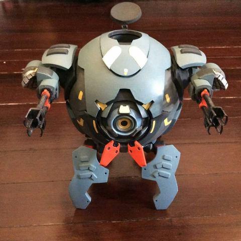06.jpg Download STL file Hammond's Wrecking Ball Mech from Overwatch • 3D printer template, FunbieStudios