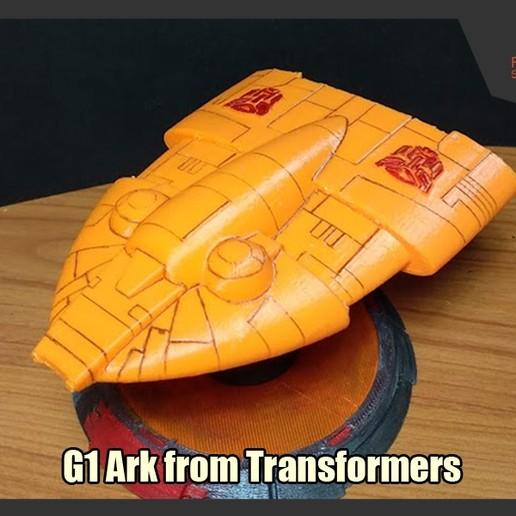 Descargar archivo STL Modelo G1 Arca de Transformadores • Modelo imprimible en 3D, FunbieStudios