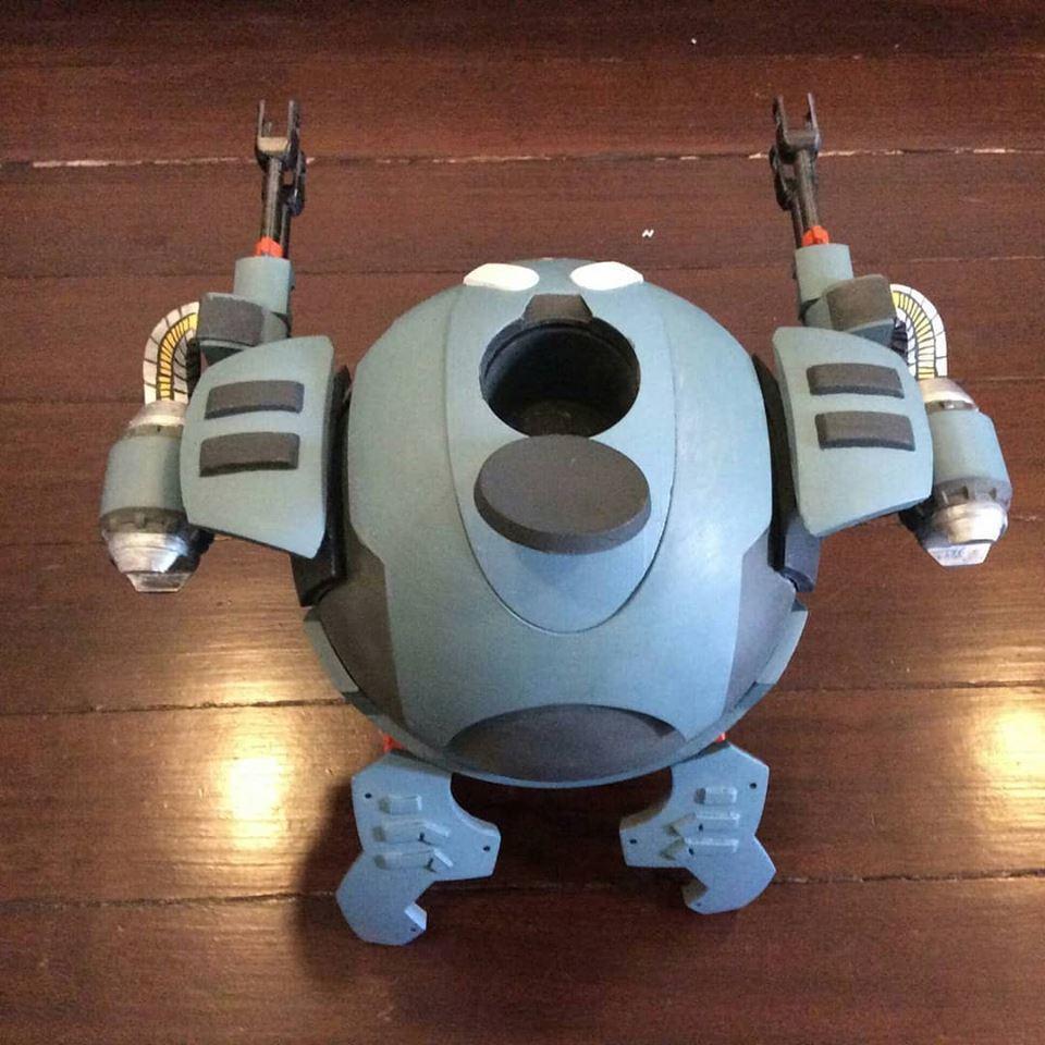 03.jpg Download STL file Hammond's Wrecking Ball Mech from Overwatch • 3D printer template, FunbieStudios