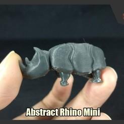 Descargar modelo 3D gratis Resumen Rhino Mini, FunbieStudios