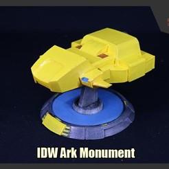 Descargar diseños 3D gratis Monumento al Arca de los Transformadores IDW, FunbieStudios