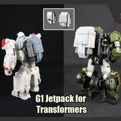 Descargar Modelos 3D para imprimir gratis Jetpack G1 para Transformadores, FunbieStudios