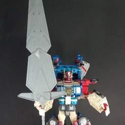 STL Transformers God Fire Convoy / Fortress Maximus Master Sword, FunbieStudios