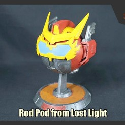 Download 3D print files Rod Pod from IDW Lost Light, FunbieStudios