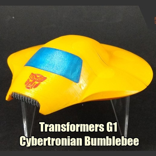 Download free 3D printer templates Transformers G1 Cybertronian Bumblebee, FunbieStudios