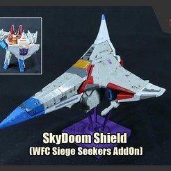 Download STL file SkyDoom Shield (WFC Siege Seekers' Addons), FunbieStudios