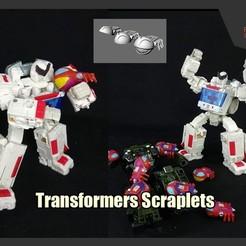 Descargar modelos 3D gratis Transformadores Raspadores, FunbieStudios