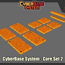 Download free 3D printer files [CyberBase System] Core Set 2, FunbieStudios