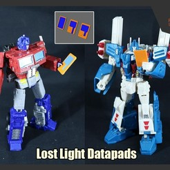 Download free 3D printer files Transformers Datapads from Lost Light, FunbieStudios