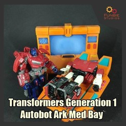 Download free 3D printing files Transformers Generation 1 - Autobot Ark Med Bay , FunbieStudios