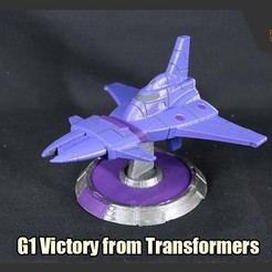 Download 3D print files Decepticons' G1 Victory from Transformers, FunbieStudios
