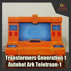 Download free 3D printer model Transformers Generation 1 - Autobot Ark Teletraan-1, FunbieStudios