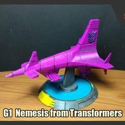 Descargar modelos 3D para imprimir Némesis G1 de los transformadores, FunbieStudios